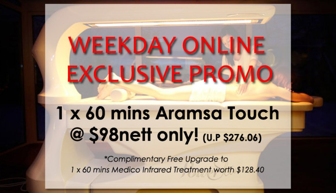 weekday online exclusive promo aramsa touch