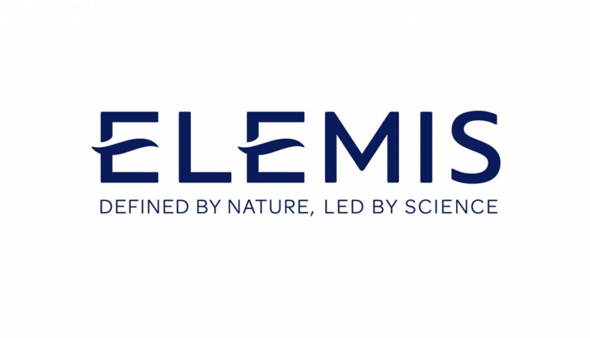 Elemis Master Logo with Strapline on White Background. JPEG.