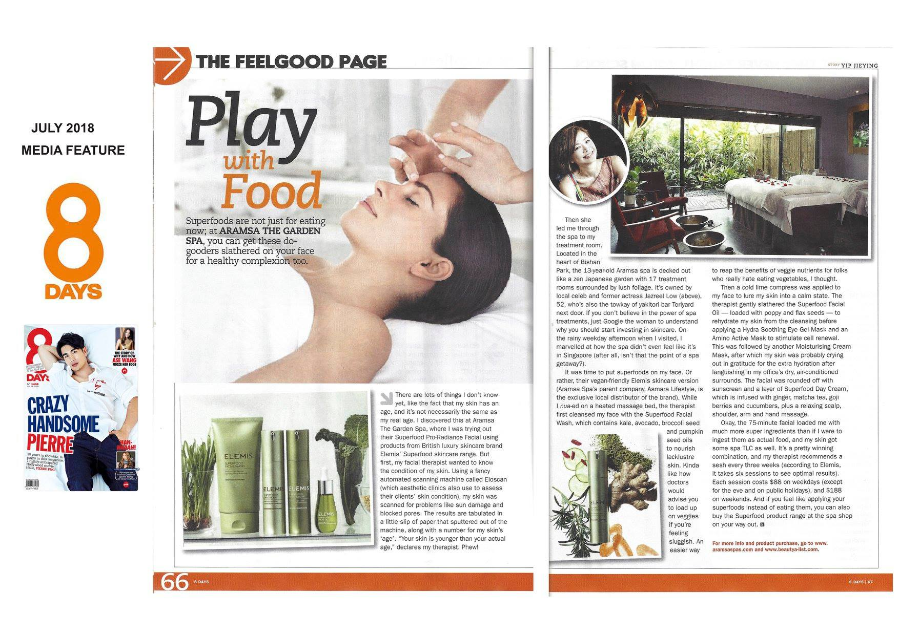 Click here to read the latest article about Elemis Superfood Facial experience, as well as the full range of Superfood Skincare Collection.