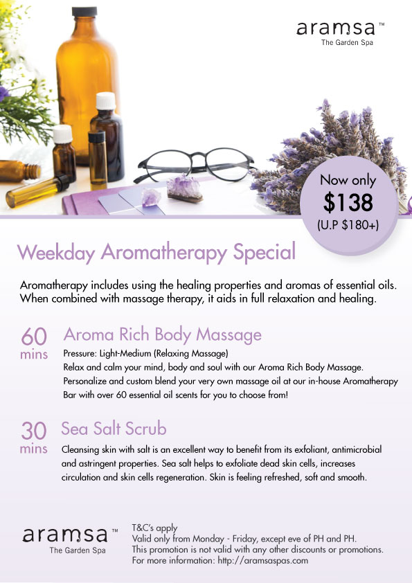 Weekday-Aromatherapy-Special