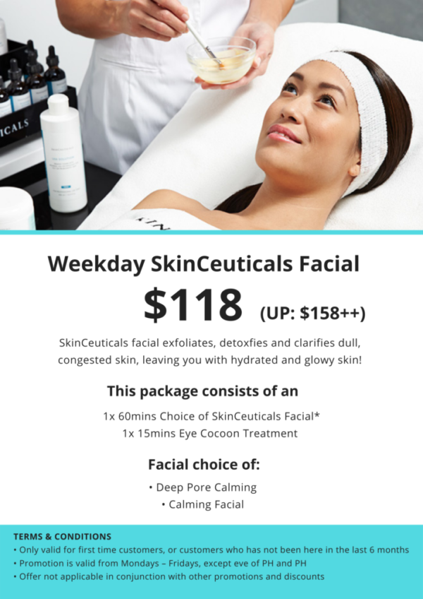 SkinCeuticals Facial Promotion