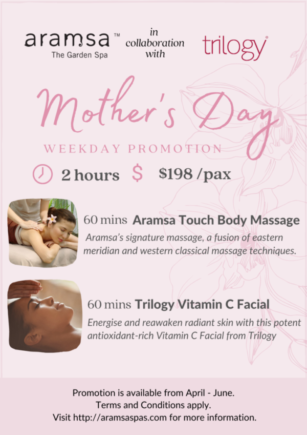 Mothers day weekday promo